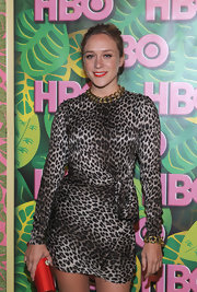 'Big Love' star Chloe Sevigny attended HBO's Post Emmy Party wearing an 18-karat gold Glamazon link necklace.