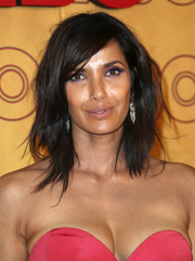 We're totally in love with Padma Lakshmi's jewel-toned eye makeup at the HBO post-Emmy reception!