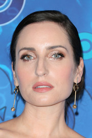 Zoe Lister Jones styled her hair into a side-parted chignon for HBO's post-Emmy reception.