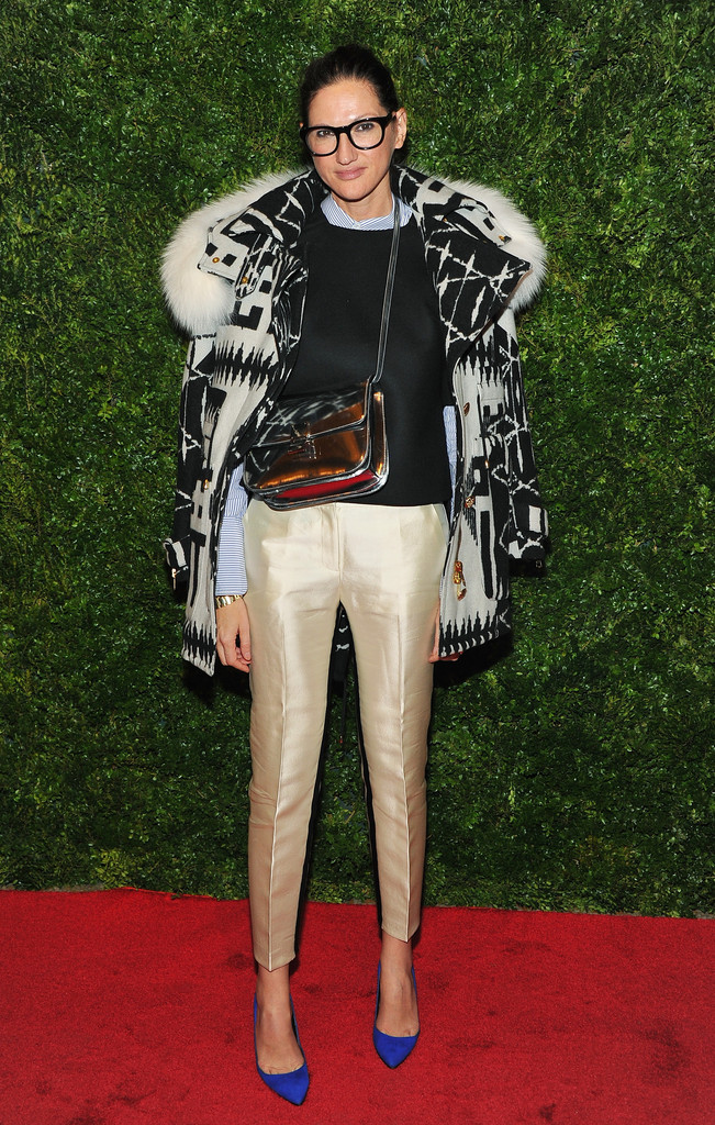 Jenna Lyons attends HBO's In Vogue: The Editor's Eye screening at Metropolitan Museum of Art on December 4, 2012 in New York City.