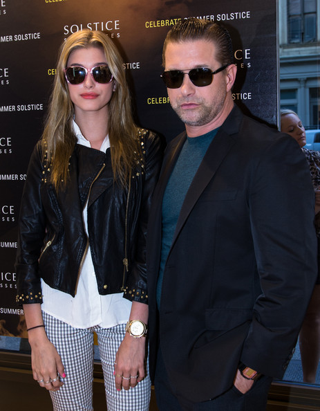Hailey Bieber Gold Chronograph Watch [stock photography,eyewear,sunglasses,fashion,glasses,vision care,jacket,outerwear,aviator sunglass,suit,leather jacket,sunglasses,stephen baldwin,hailey baldwin,aviator sunglass,eyewear,fashion,glasses,nyc,solstice sunglasses annual summer soiree in flatiron,hailey rhode bieber,stephen baldwin,solstice sunglasses,celebrity,photography,actor,stock photography,getty images]