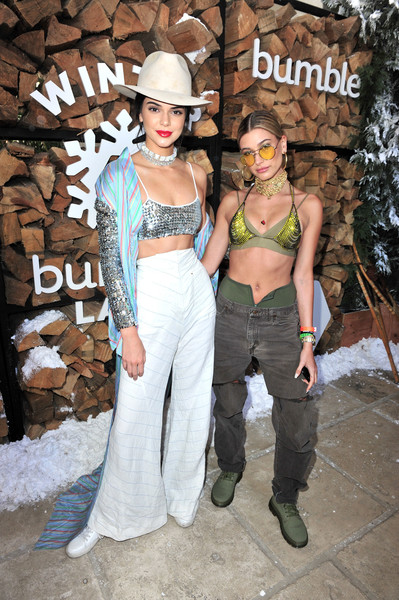 Hailey Bieber Ripped Jeans [image,fashion,costume,girl,jeans,fun,fashion design,kendall jenner,hailey baldwin,kylie jenner,fashion,fashion,clothing,costume,winter bumbleland,festival,kendall jenner,kylie jenner,coachella valley music and arts festival,celebrity,music festival,festival,fashion,clothing,image]