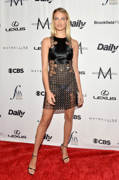 Hailey Clauson Sheer Dress