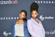 Halle Bailey Ripped Jeans