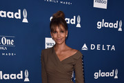 Halle Berry Wrap Top
