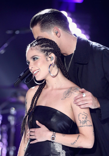 Halsey Gold Quartz Watch