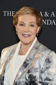 Julie Andrews sported her signature short side-parted style at the 2017 Hamptons International Film Festival.