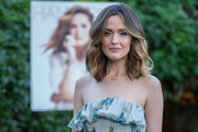 Rose Byrne attended her Hamptons Magazine cover celebration wearing this lovely wavy hairstyle.