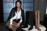 Hannah Bronfman Leather Jacket