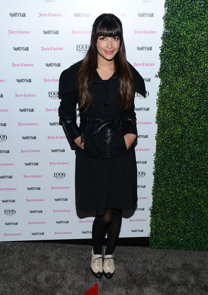 Hannah Simone Wool Coat