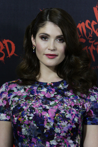 More Pics of Gemma Arterton Print Dress (2 of 28) - Gemma Arterton Lookbook - StyleBistro