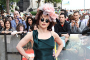 (UK TABLOID NEWSPAPERS OUT) Helena Bonham Carter attends the world premiere of Harry Potter and the Deathly Hallows Part 2 at Trafalgar Square on July 7, 2011 in London, England.