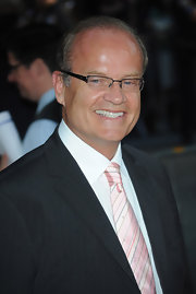 Kelsey Grammer donned a striped pink tie for the premiere of 'Harry Potter and the Half-Blood Prince.'
