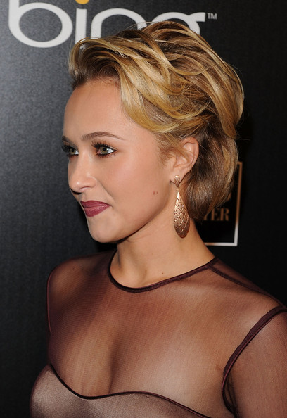 Actress Hayden Panettiere arrives at the Hollywood Domino Gala presented by
