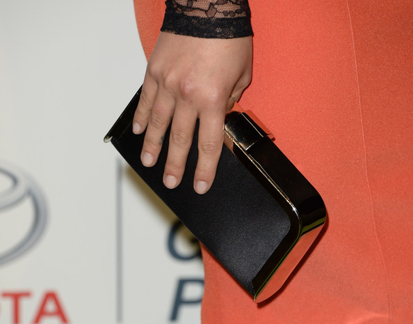 Hayden Panettiere Satin Clutch [wallet,leather,hand,fashion accessory,wrist,nail,lexus - green carpet,hayden panettiere,annual environmental media awards,clutch detail,burbank,california,toyota,warner bros. studios,lexus]