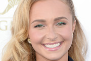 Hayden Panettiere Long Side Part