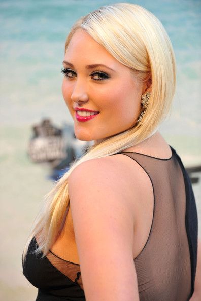 Hayley Amber Hasselhoff Long Straight Cut