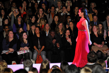 Kim Kardashian Reggie Bush Heart Truth - Front Row - Fall 2010 MBFW