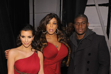 Kim Kardashian Reggie Bush Heart Truth's Red Dress Collection 2010 - Backstage