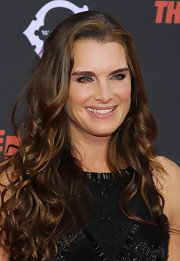 Brooke Shields looked as pretty as ever at the premiere of 'The Heat' wearing this long curly 'do.