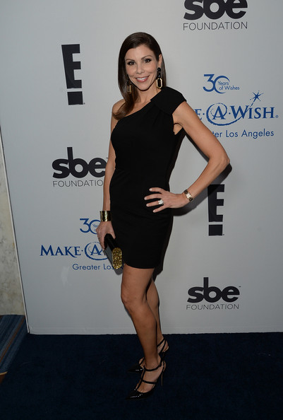 Heather Dubrow One Shoulder Dress