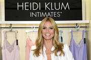 Heidi Klum Launches Her Lingerie Collection in NYC