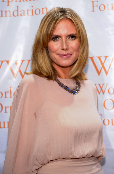 Heidi Klum Gemstone Statement Necklace