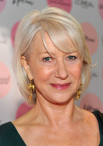 Helen Mirren Bob [power 100: women in entertainment breakfast,hair,face,blond,hairstyle,eyebrow,chin,forehead,hair coloring,lip,layered hair,dame helen mirren,arrivals,the beverly hills hotel,beverly hills,california,hollywood reporter,the hollywood reporter]