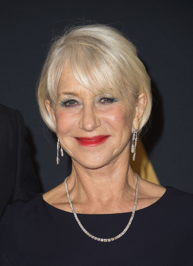 Helen Mirren Bob Short Hairstyles Lookbook Stylebistro