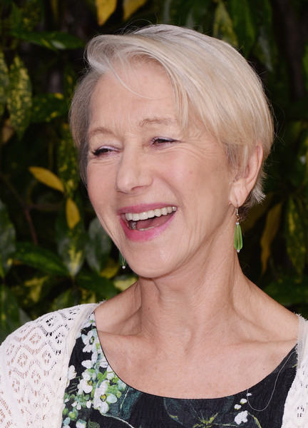 Helen Mirren Short Side Part