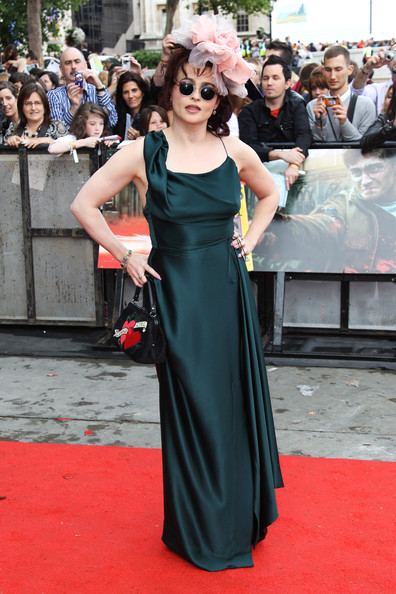 Helena Bonham Carter Evening Dress