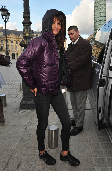 Helena Christensen Down Jacket