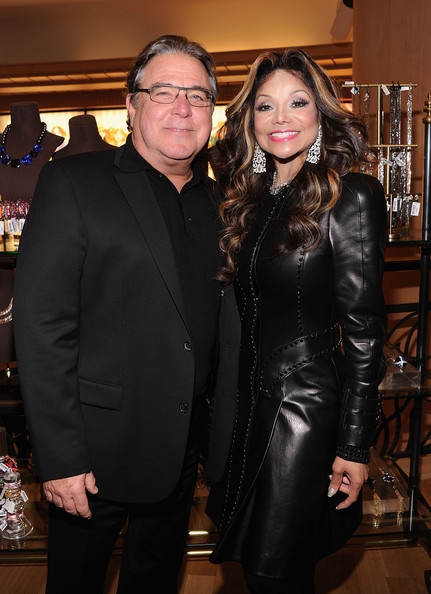 More Pics of La Toya Jackson Leather Dress (1 of 16) - La Toya Jackson Lookbook - StyleBistro
