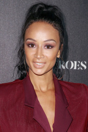 Draya Michele rocked a messy-chic ponytail at the Heroes at the ESPYS event.
