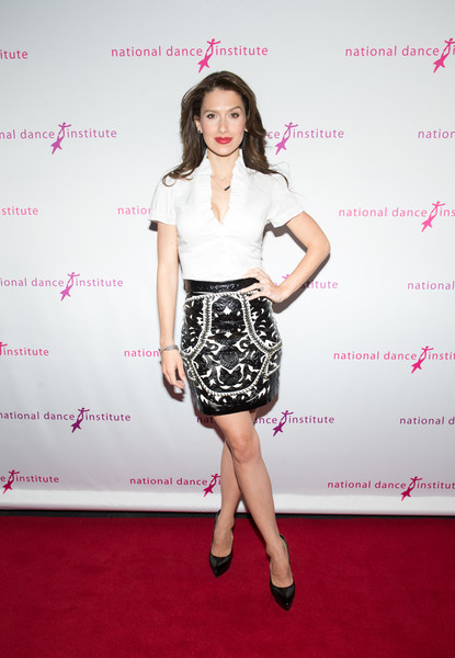 Hilaria Baldwin Mini Skirt