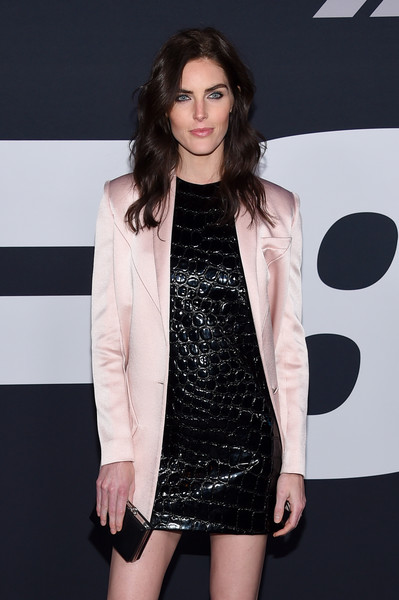 Hilary Rhoda Box Clutch [the fate of the furious,clothing,fashion model,fashion,outerwear,dress,long hair,leg,fashion show,black hair,formal wear,model,hillary rhoda,new york city,radio city music hall,new york premiere]