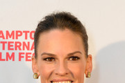Hilary Swank Ponytail