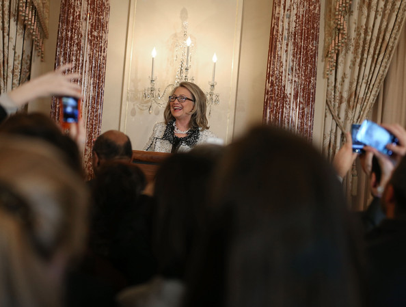 Hillary Clinton Launches Humans Rights And Anti-Poverty Initiative