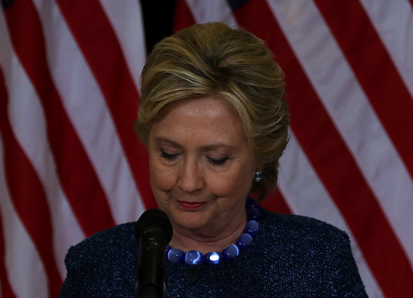 Hillary Clinton attended a campaign rally in Iowa wearing a stylish short 'do.