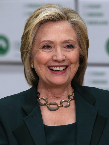 Hillary Clinton Bob [hair,face,hairstyle,blond,chin,smile,official,white-collar worker,layered hair,businessperson,hillary clinton,members,hillary clinton begins presidential campaign,small business community,bid,iowa,norwalk,democratic,capital city fruit,discussion]