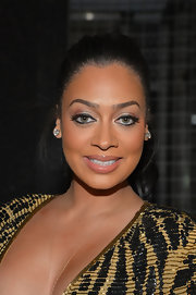 La La Anthony pulled her hair back in a glam ponytail for the Hip Hop Inaugural Ball.