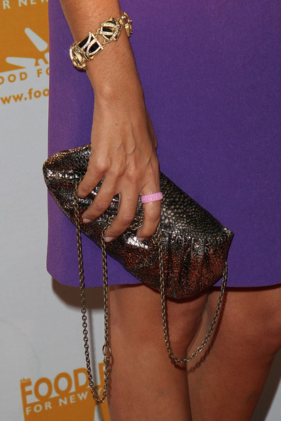 Hoda Kotb Metallic Purse