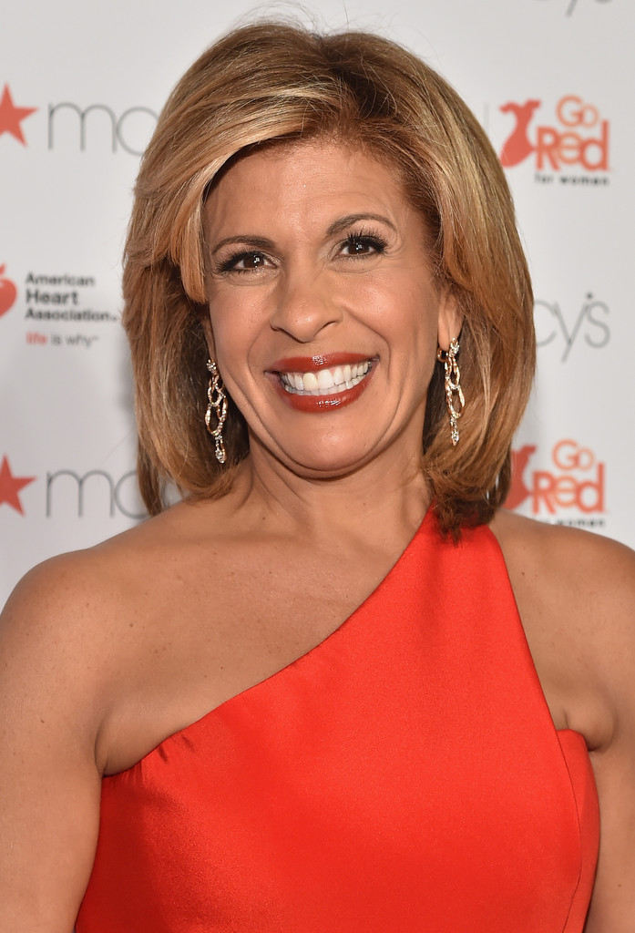 Hoda Kotb Shoulder Length Hairstyles Mid Length
