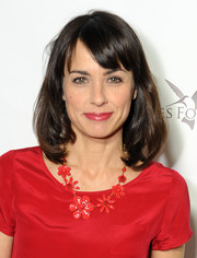 Constance Zimmer topped off her look with a classic mid-length bob when she attended the Q&A with Ann Curry event.