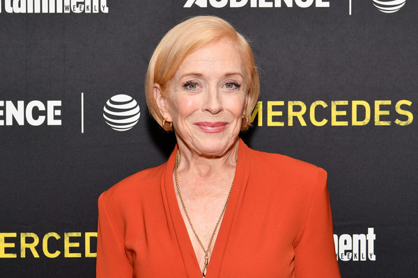 Holland Taylor Bob [chin,television presenter,blond,newscaster,media,smile,spokesperson,audience network host a first look screening of mr.,mr.,holland taylor,crosby street hotel,new york city,entertainment weekly,mercedes,audience network,season,look screening]