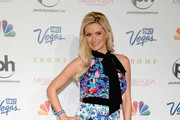 Holly Madison Print Dress