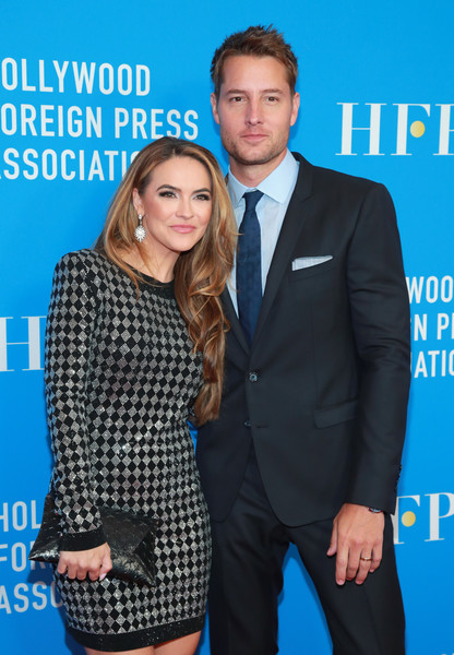 More Pics of Chrishell Stause Long Side Part (1 of 8) - Chrishell Stause Lookbook - StyleBistro [suit,premiere,event,formal wear,tuxedo,white-collar worker,dress,smile,style,carpet,arrivals,justin hartley,chrishell hartley,l-r,beverly hills,california,regent beverly wilshire hotel,hollywood foreign press association,annual grants banquet,hollywood foreign press associations annual grants banquet]