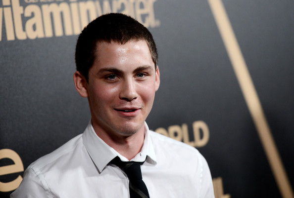 More Pics of Logan Lerman Buzzcut (2 of 7) - Hair Lookbook - StyleBistro