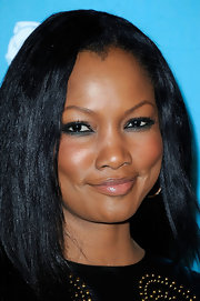Garcelle Beauvais wore rich jade green liner at A Night of Firsts presented by the Hollywood Foreign Press Association and 'InStyle.'