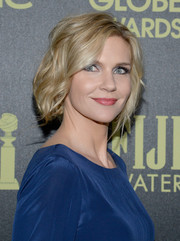 Rhea Seehorn rocked a messy tousled cut for a care-free look.